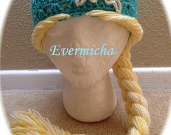 Rapunzel Ice Queen Crochet Pattern
