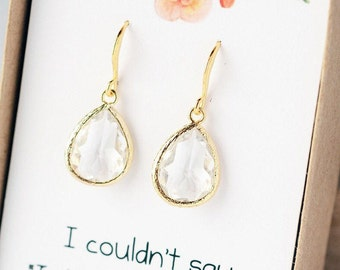 Bridesmaid Jewelry Bridesmaid Earrings Wedding Jewelry for Bridesmaids Earrings Bridal Gift Earrings Wedding Jewelry LimonBijoux