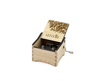 Let It Be + Your Engraving on the music box