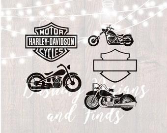 DIGITAL DOWNLOAD svg png motorcyle svg bike ride chopper harley davidson biker highway cricut cutting file vinyl HTV boy girl shirt print