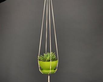 Macrame Plant Hanger Plant Holder Cotton Rope hanging planter macrame pot holder minimalist macrame decor bohemian decor
