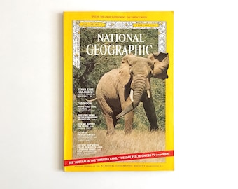 Vintage National Geographic February 1969 / 1960s Nat Geo / National Geographic Magazine / Vintage Photography, 1960s Photos / Vintage Ads