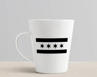 Chicago Flag / Chicago Mug / Chicago Coffee / Chicago Flag Mug / Chicago Gift / Chicago / Coffee Mug / Mug / Windy City / Chicago Flag Gift