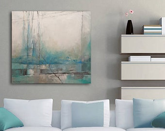 Modern Art, Blue Painting, Abstract Art, Acrylic Painting, Original Canvas Painting, Nature Art, Abstract Painting Original, Original Art