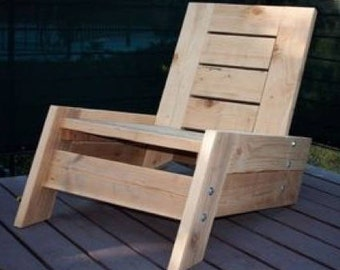 Reclaimed Wood Deck Chair