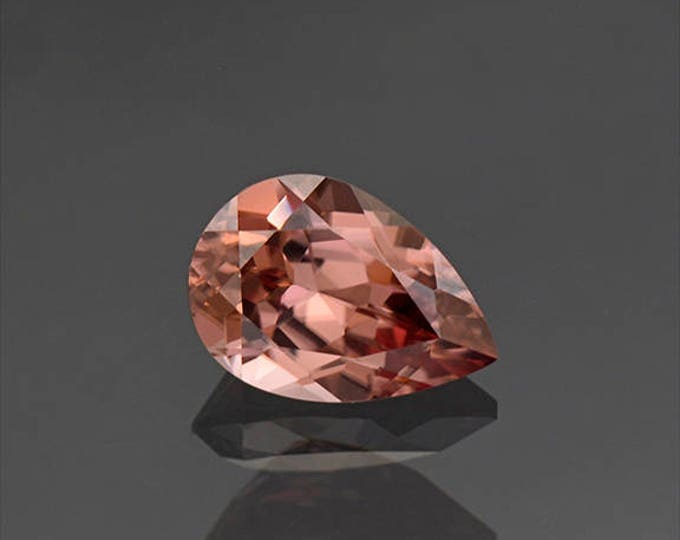 UPRISING SALE! Fantastic Pink Champagne Zircon Gemstone from Tanzania 3.14 cts.