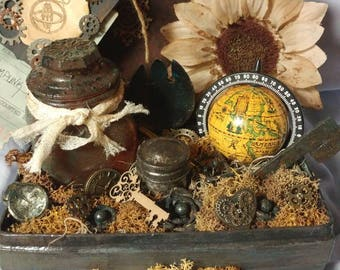 Steampunk Inspired Trunk Time & Travel