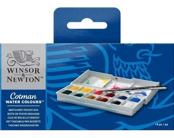 Winsor & Newton Cotman Water Colour Sketchers Pocket Box