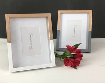 Beechwood Picture Frames - Half Hand Painted