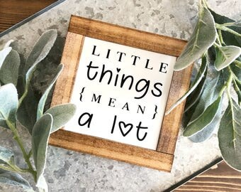 Little Things Mean a Lot | Profits to a family member in need