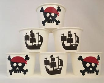 Pirate Party Snack Cups