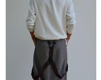 ON SALE Woman pants /Loose Drop crotch trousers/Loose pants / Harem brown trousers / Low crotch pants