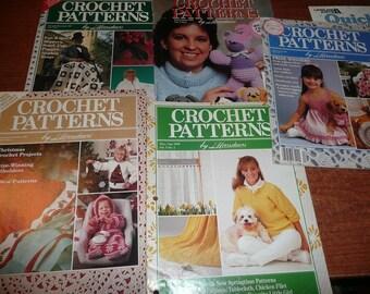Herrschner's Crochet Patterns 1989-1991