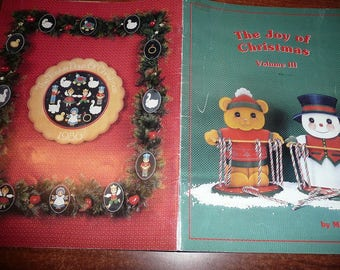 Vintage The Joy Of Christmas Painting Book Volume III