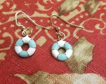 Life saver earrings