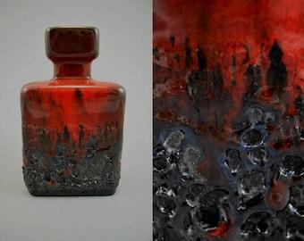 Vintage vase / Jopeko / 912 16 / Fat Lava   West Germany   WGP   60s