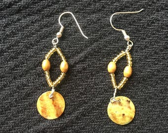 Boho Brown Earrings