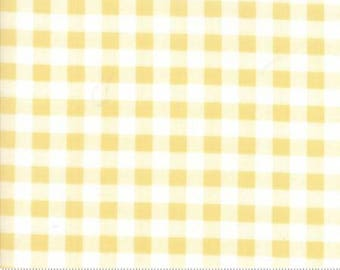 1 Yard Farmers Daughter by By Vanessa Goertzen of Lella Boutique for Moda- 5054-24 Gingham Sunshine