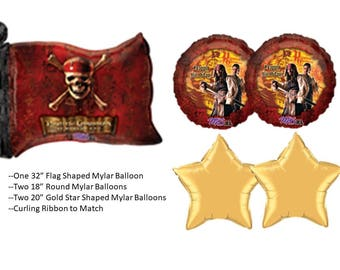 Pirates of the Caribbean Balloons, POTC balloons