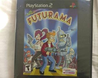 Ps2 Futurama Game