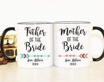 Parents of the Bride gift, Mother of the Bride gift, Father of the bride, Mother of the Bride gift from daughter, Parents of the Bride mug