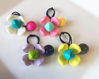 Large Ponytail Holder / Ponytail Holders / Ponytail / Hair Ties / Pigtails / Hair Tie / Hair Accessory / Hairbands / Scrunchies