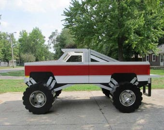 Monster truck bed 3D