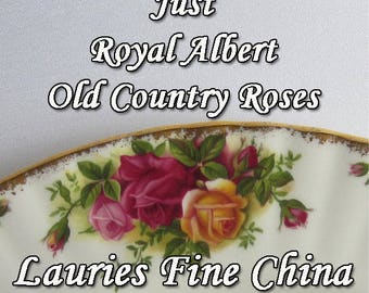 Royal Albert Old Country Roses Bone China - Assorted Dinnerware Pieces