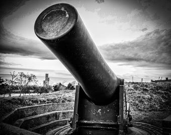 Cannon of Fort McHenery Fine Art Print