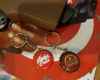 Fallout keychain bottlecap