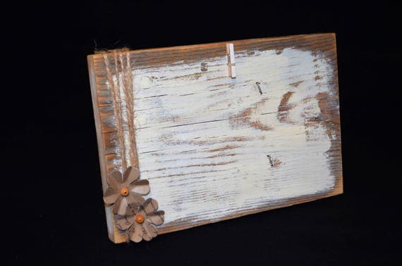 8x5 Rustic Picture Frame Distressed Wood Frame With