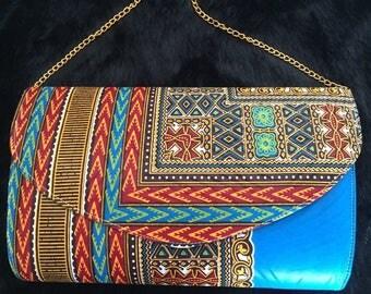 Handy ethnic handmade shoulder bag
