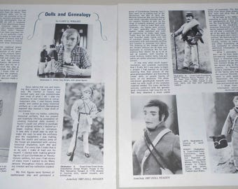 Dolls and Genealogy ~  Magazine Article Pages Reference 1981