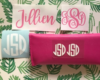 HTV** Names and monograms Sale!** Heat transfer vinyl, DIY iron on, personalized name, name iron on, monogram iron on, HTV