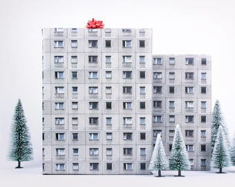 5x Wrapping Paper / Berliner Platte No. 1