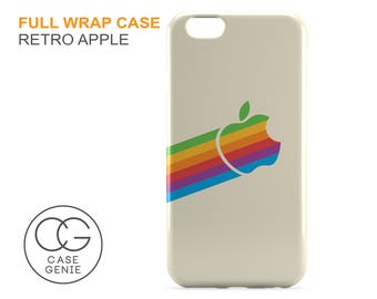 Retro Apple Logo Case for iPhone 7 Plus 6 6s 5 5s 5c SE 4 4s iPad 2 3 4 Air 1 Mini