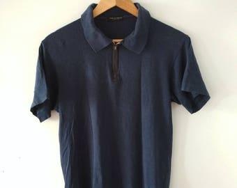 Rare Vintage COMME des GARCONS Homme Plus Polo Tshirt Size M