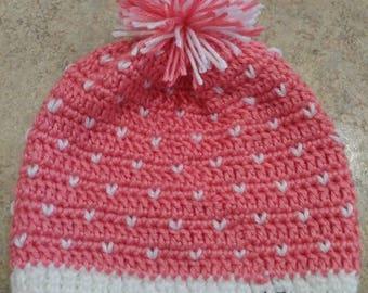 Slouchy hat, crochet hat, winter hat, style hat, girls hat, girls crochet hat