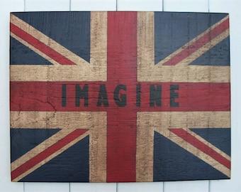 """Union Jack """"quotation"""" Flag"""