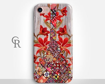 Bohemian iPhone 7 Plus Case For iPhone 8 iPhone 8 Plus - iPhone X - iPhone 7 Plus - iPhone 6 - iPhone 6S - iPhone SE - Samsung S8 - iPhone 5