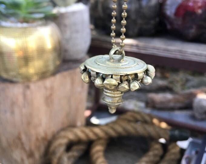 Indian bronze charm