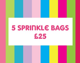 Any 5 50g Sprinkle Bags