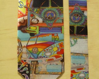 Unique Mens Tie - Kombi Van Collage