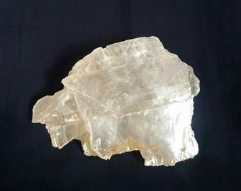 Selenite Reiki Crystal // Cleansing Crystal Gemstone // Healing Raw Selenite // Crown Chakra Clearing // White Angel Stone // Meditation