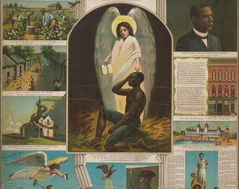 Poster, Many Sizes Available; Afro American Monument, Circa 1897