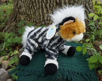 Drew. FrankenFuzzie, Soft Sculpture, Stuffed Animal, Toy