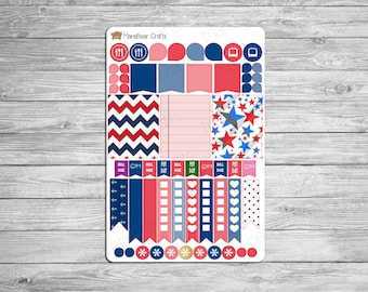July Planner Kit! For your Erin Condren Life, Plum Planner, Recollections! (50+ Planner Stickers)