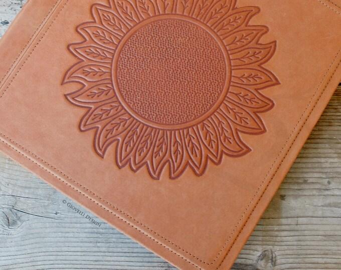 Sunflower Leather Photo Album, Scrapbook