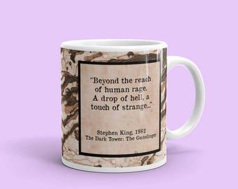 Dark Tower Mug, Stephen King Mug,