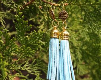 Tassel Earrings. Dangle Earrings. Dangle & Drop Earrings. Lightweight Earrings.  (3 different variations), Mother's Day Gift